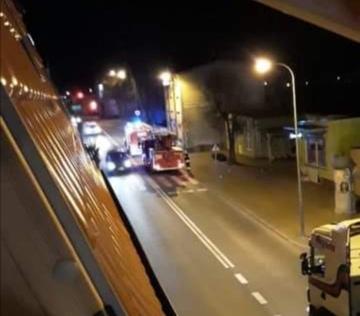 Pożar mieszkania w Kaliszu Pomorskim