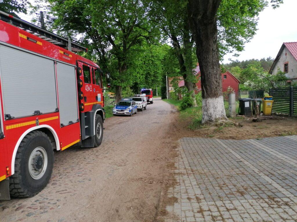 Pożar domu. Strażacy odkryli ciało