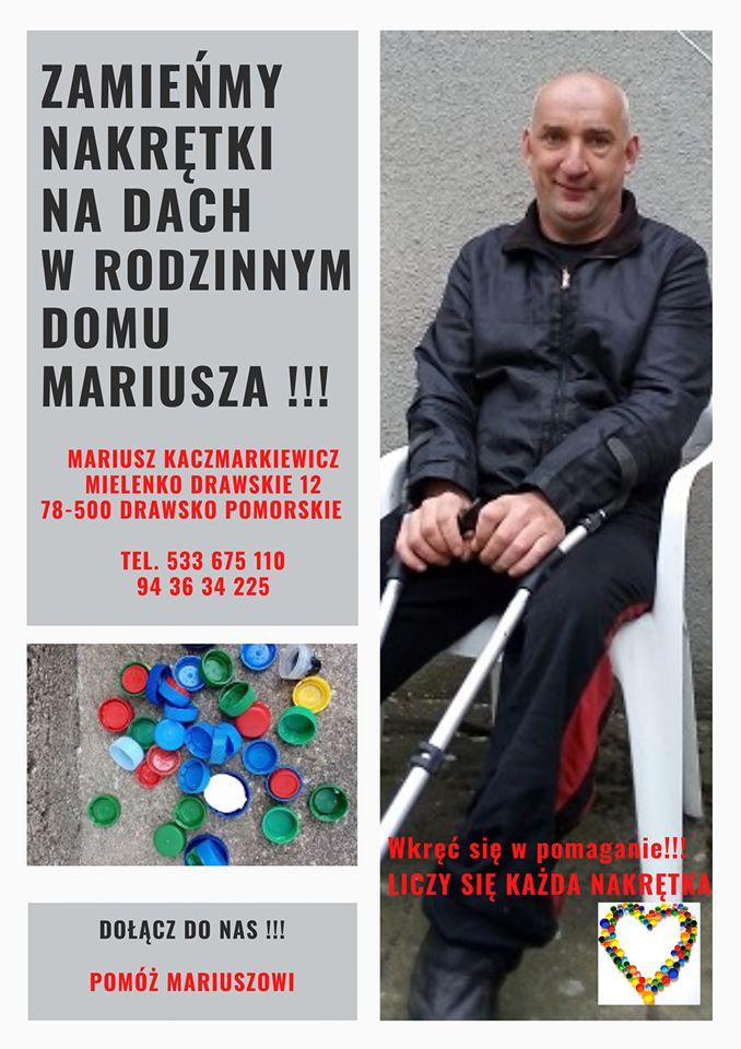 Mariusz z Mielenka wciąż zbiera nakrętki. Zaczyna od początku