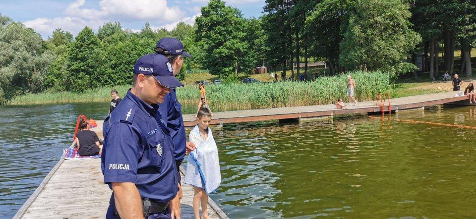 Kąpieliska w Drawsku Pomorskim bezpieczne ! Ruszył sezon wakacyjny