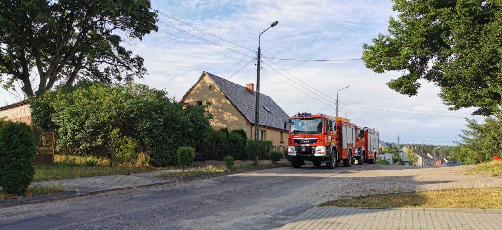 Butla z gazem - interweniowali strażacy