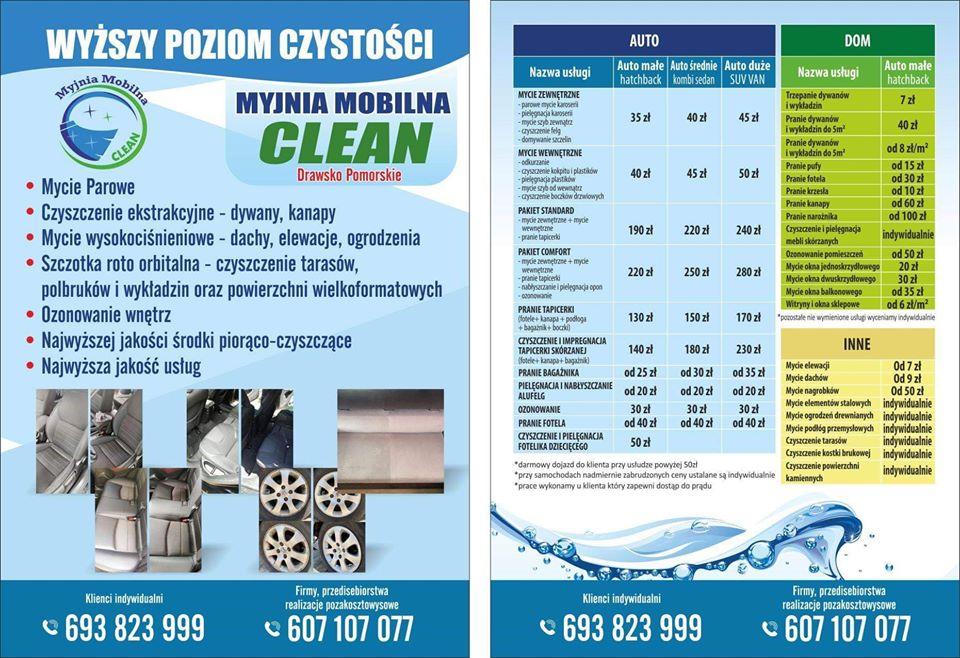 Myjnia z dojazdem obsługuje już klientów na Pojezierzu Drawskim