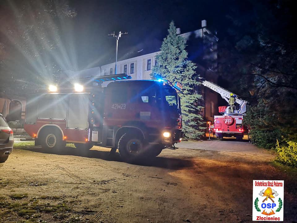 11-latek utknął w pałacu. Z pomocą przyjechali strażacy