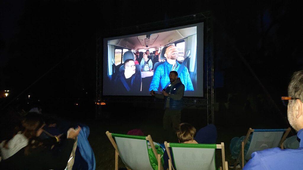 Przemek Kossakowski na zakończenie festiwalu w Ińsku