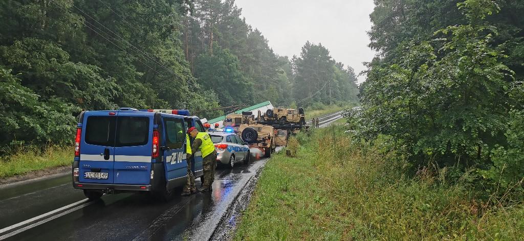 Potężne zderzenie dwóch ciężarówek. Skutki mogły być tragiczne