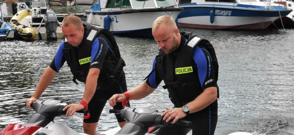 Policjanci na skuterach Będzie więcej takich akcji