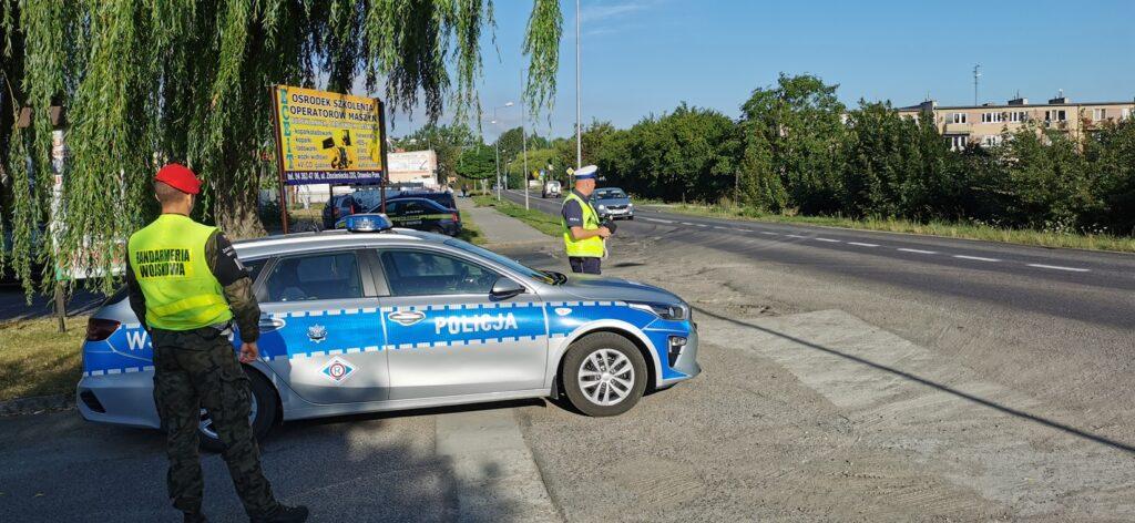 Policjanci z radarami – sprawdzali jak jeżdżą kierowcy