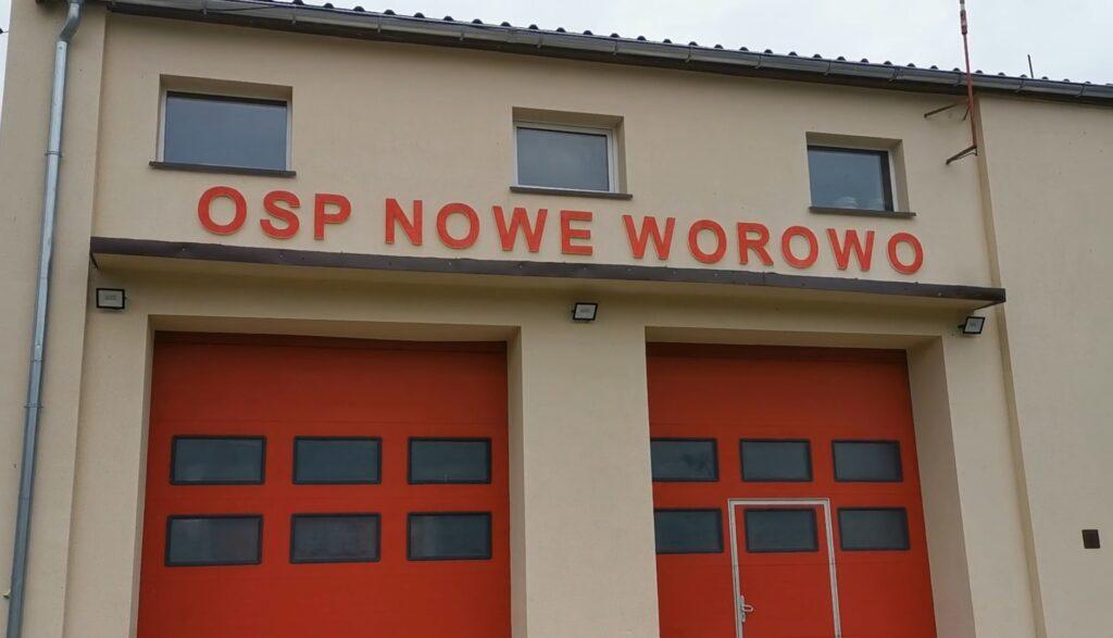 OSP Nowe Worowo będzie miało łódź ratunkową. Finalizacja zakupu [VIDEO]