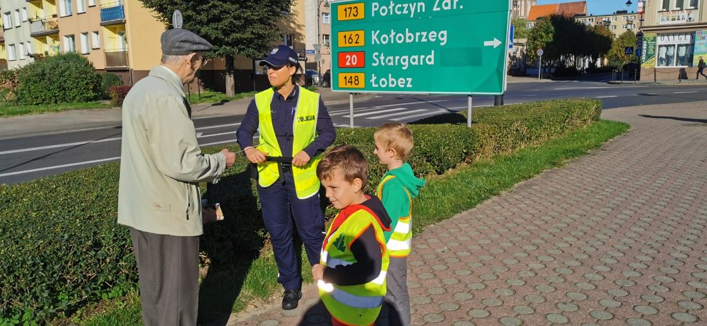 Wyszli na ulicę i propagowali bezpieczeństwo !