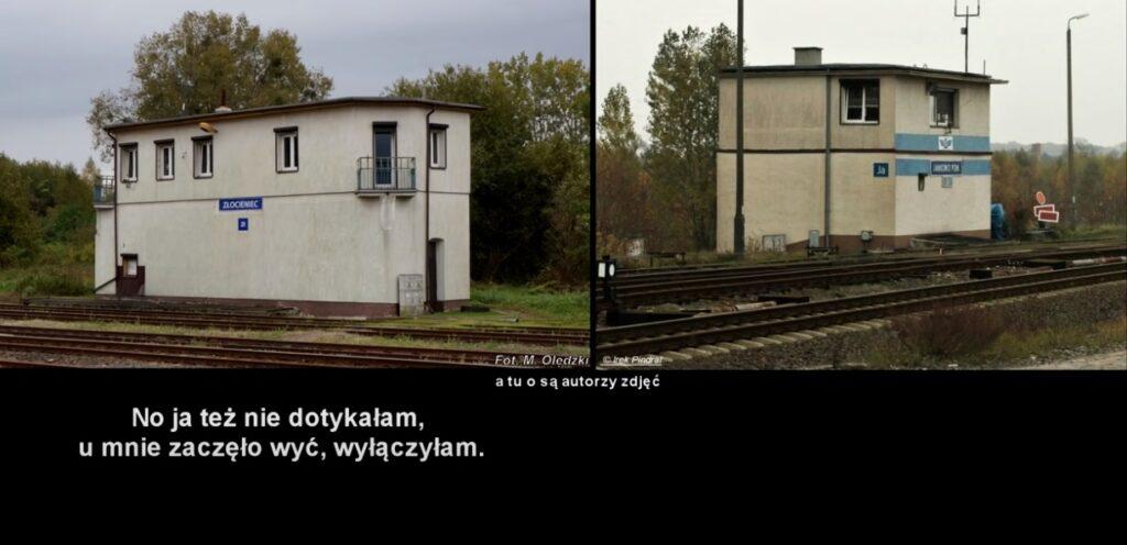 O krok od katastrofy kolejowej w pobliżu Drawska Pomorskiego - jest analiza video