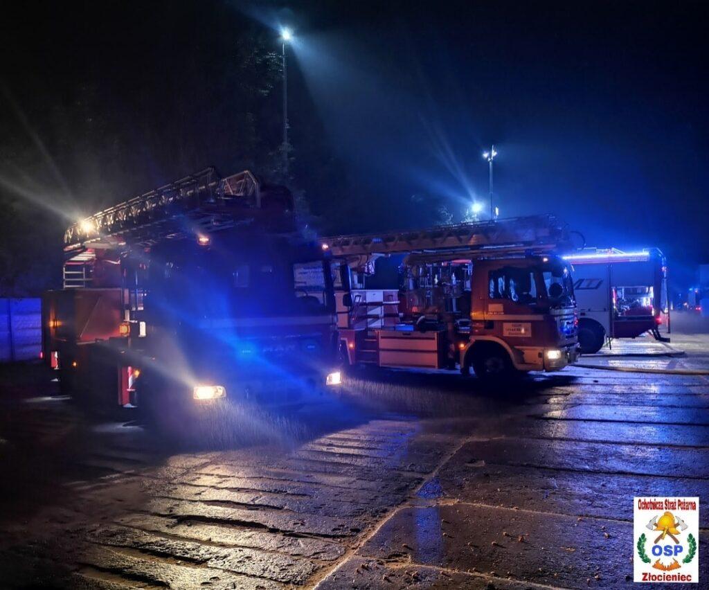 Kolejny pożar w zakładzie produkcyjnym w Suliszewie