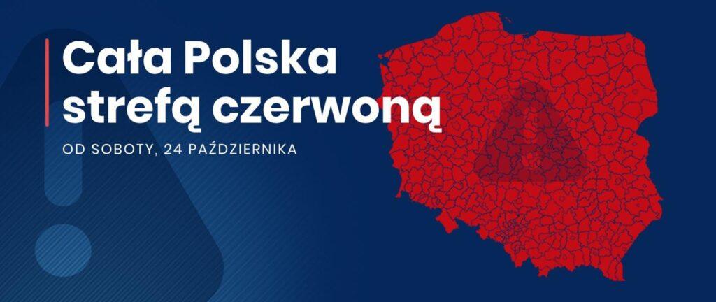 Czerwona strefa w całej Polsce. Szczegółowe informacje