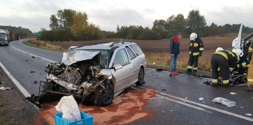 Śmiertelny wypadek na trasie Czaplinek - Szczecinek [DK nr 20]