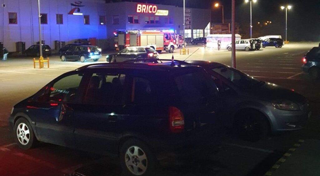 Nieszczęśliwy wypadek na terenie sklepu w Złocieńcu