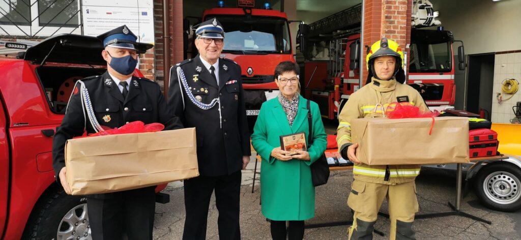 Nowy sprzęt u strażaków ze Złocieńca. Podziękowali też mieszkańcom