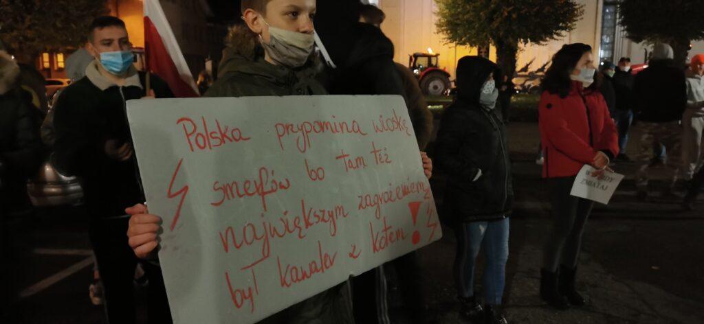Rolnicy i kobiety. Głośny protest w Czaplinku