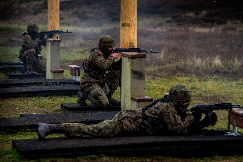 Żołnierze z Bydgoszczy szkolą się na poligonie drawskim