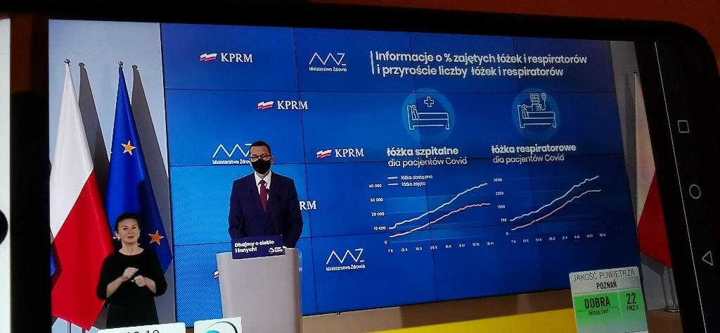 Premier Morawiecki poinformował o kolejnych planach rządu