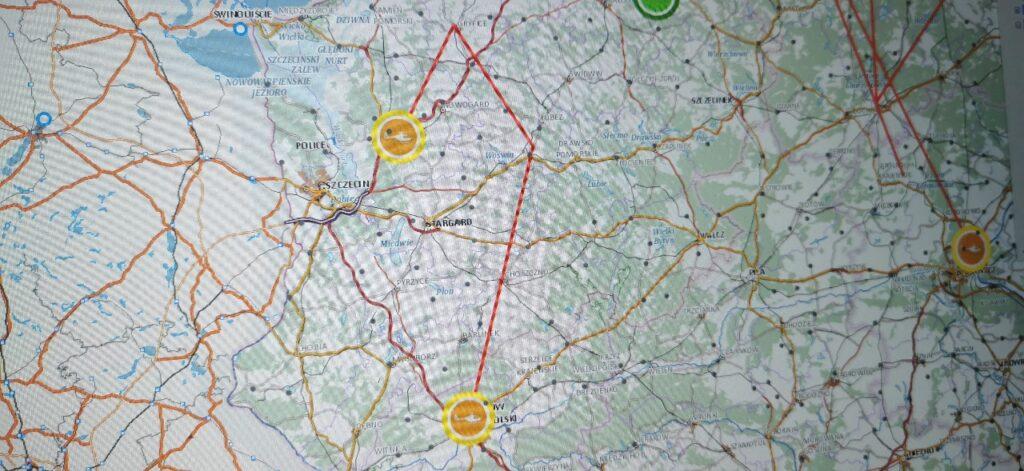 Tragiczny finał wypadku w pobliżu Węgorzyna. Dwa śmigłowce LPR w akcji