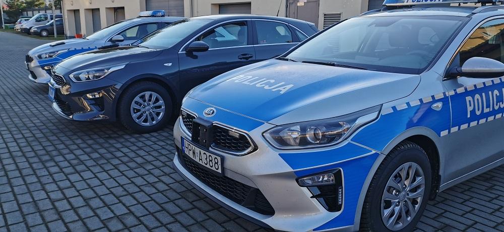 Nowy sprzęt w drawskiej komendzie. Samochody wyjadą na drogi powiatu