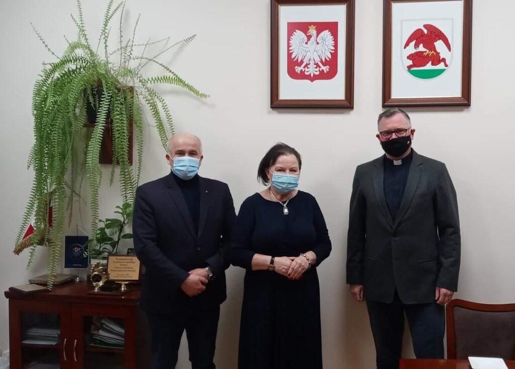 Spotkanie Burmistrza Kalisza Pomorskiego z Prezes WFOŚiGW