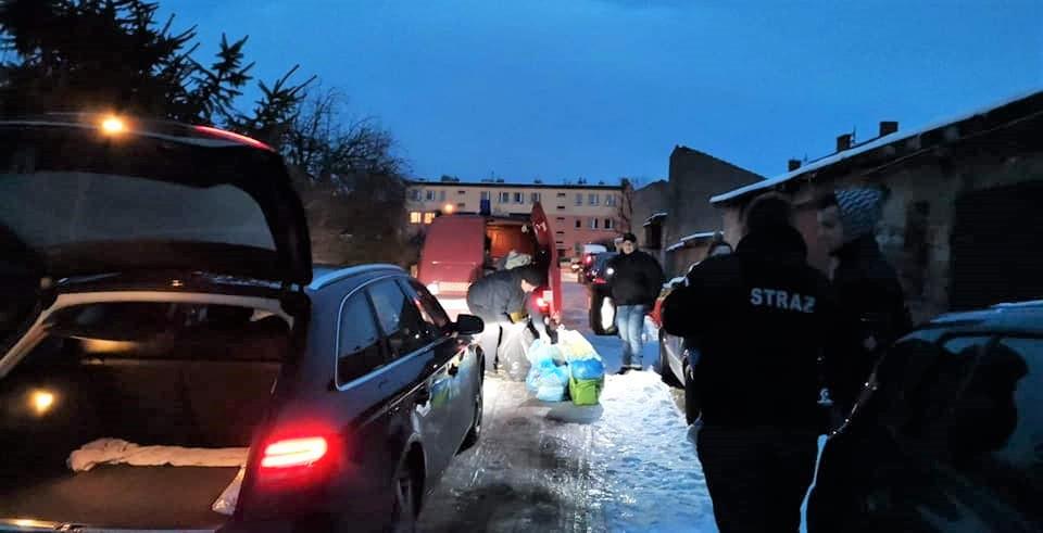 Strażacy z OSP Siemczyno uruchomili lawinę pomocy [VIDEO]