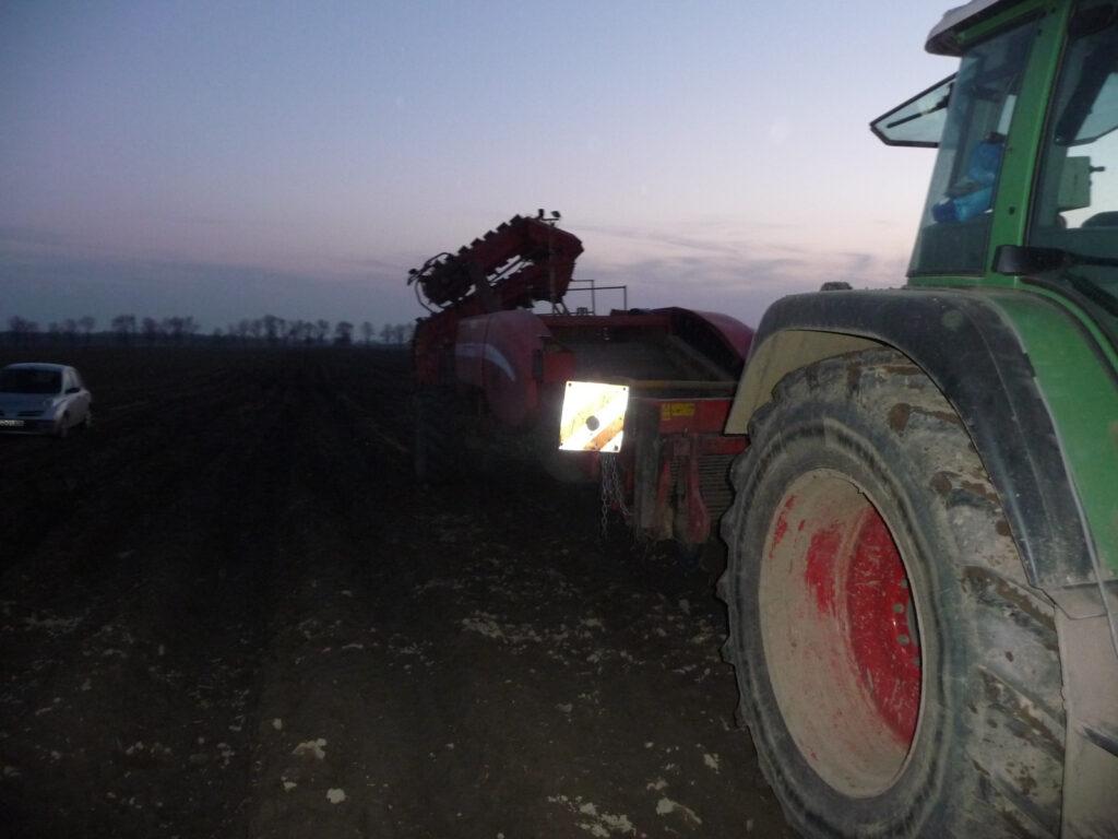 Wypadek z udziałem rolnika