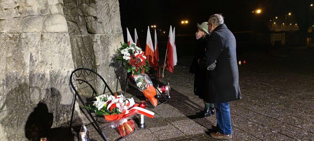 Na drawskim cmentarzu uczczono pamięć o  Żołnierzach Wyklętych
