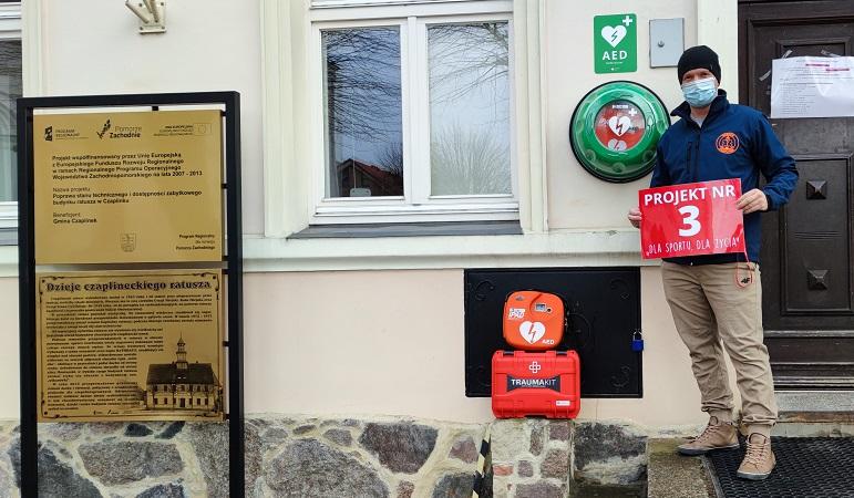Ratownicy z Czaplinka chcą poprawić bezpieczeństwo i infrastrukturę na terenie gminy. Kolejny projekt w czaplineckim budżecie obywatelskim [WIDEO]