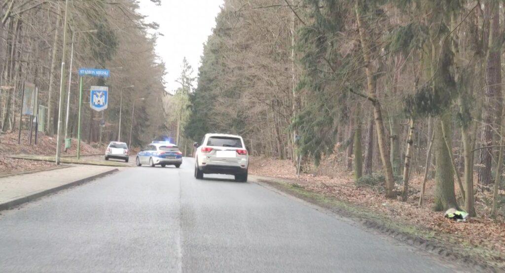 Policjanci zatrzymali kierowcę do kontroli. Dalej już nie pojechał !