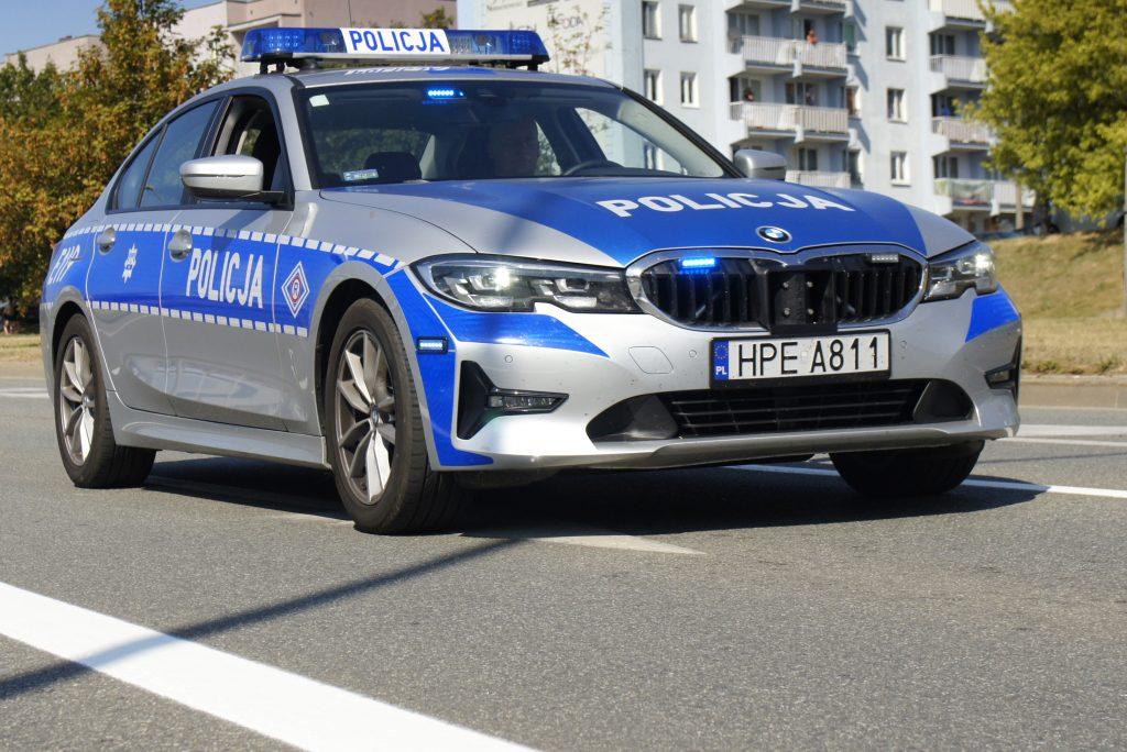 Na widok patrolu Policji zaczął uciekać