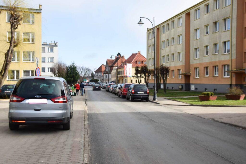 W centrum Złocieńca zakończono remont jednej z ulic