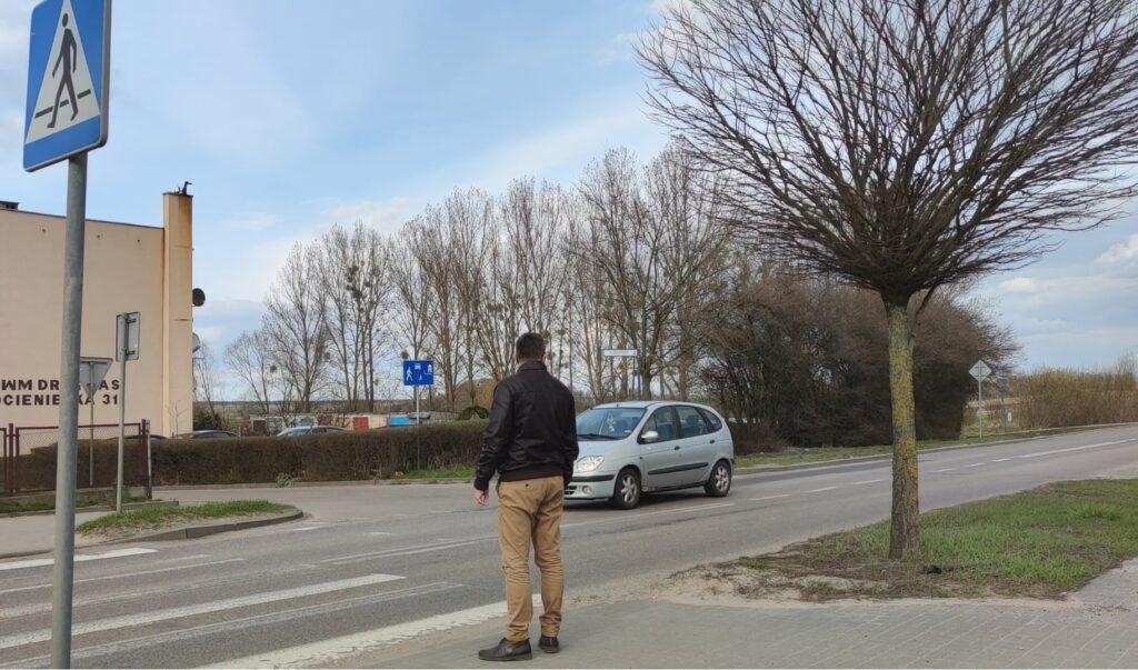 Przejścia dla pieszych w Drawsku Pomorskim będą bezpieczniejsze. To efekt zabiegań mieszkańców i władz