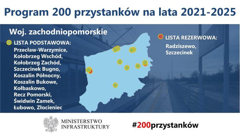 W Złocieńcu i Łubowie powstaną nowoczesne przystanki kolejowe