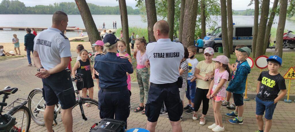 Służby przypominały dzieciom i młodzieży bezpieczne zachowania