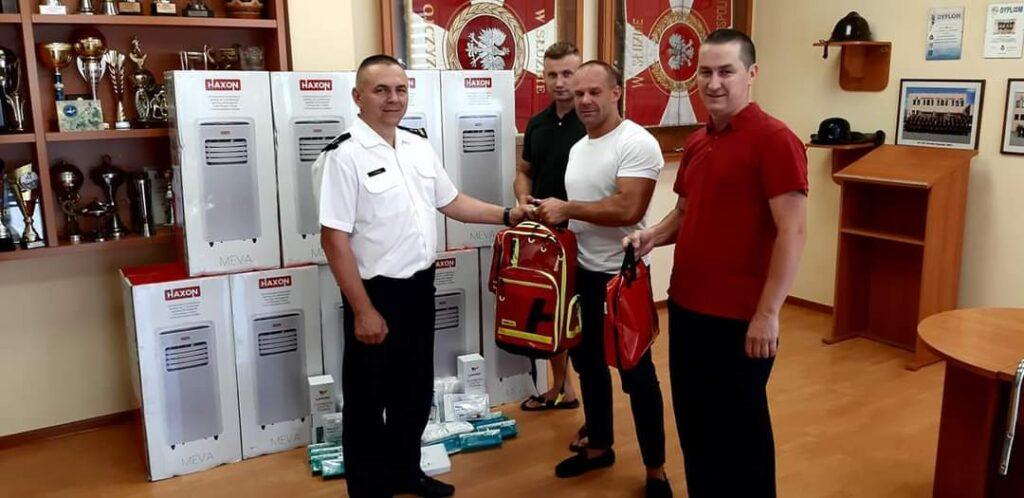 Kolejny sprzęt przekazany dla drawskich strażaków