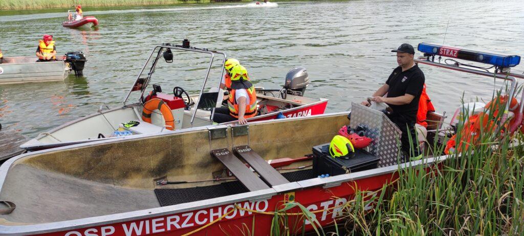 Strażacy ćwiczyli ratownictwo wodne