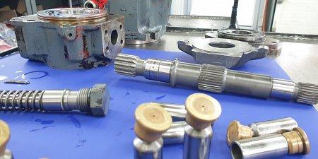 Pompa hydrauliczna jako centrum maszyny hydraulicznej. Serwis, regeneracja