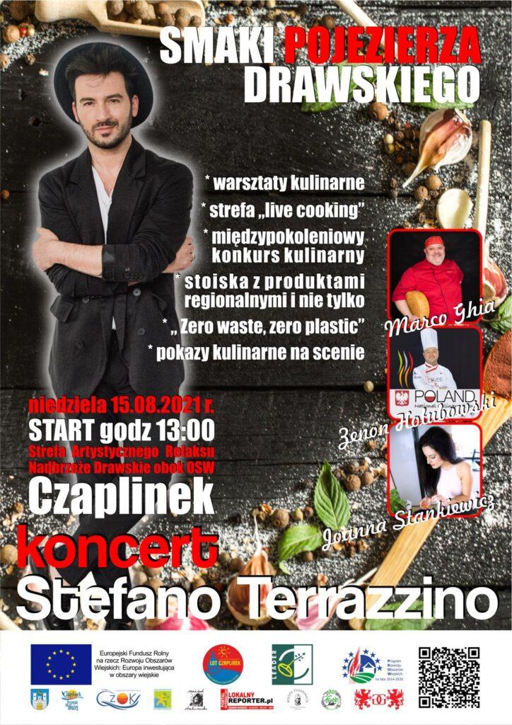 Już w niedzielę w Czaplinku Stefano Terrazzino. Będzie wielkie show kulinarne i taneczne