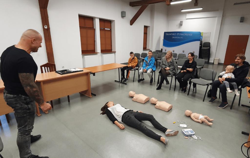 Grupa Medyczna z Drawska Pomorskiego organizuje spotkanie. Każdy może zostać ratownikiem !
