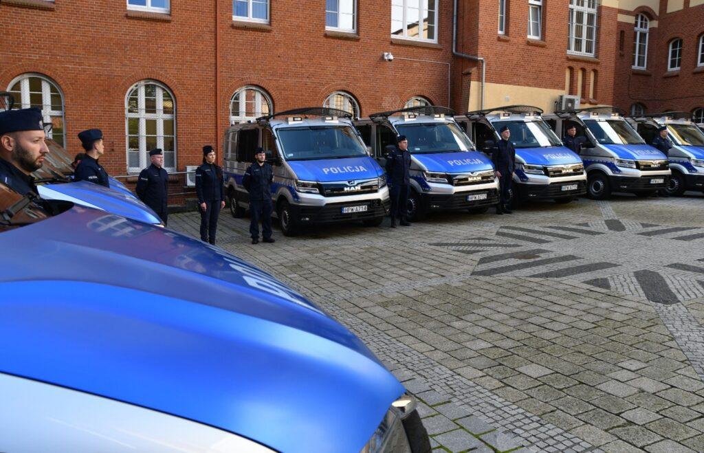 Zachodniopomorska Policja ma nowe radiowozy