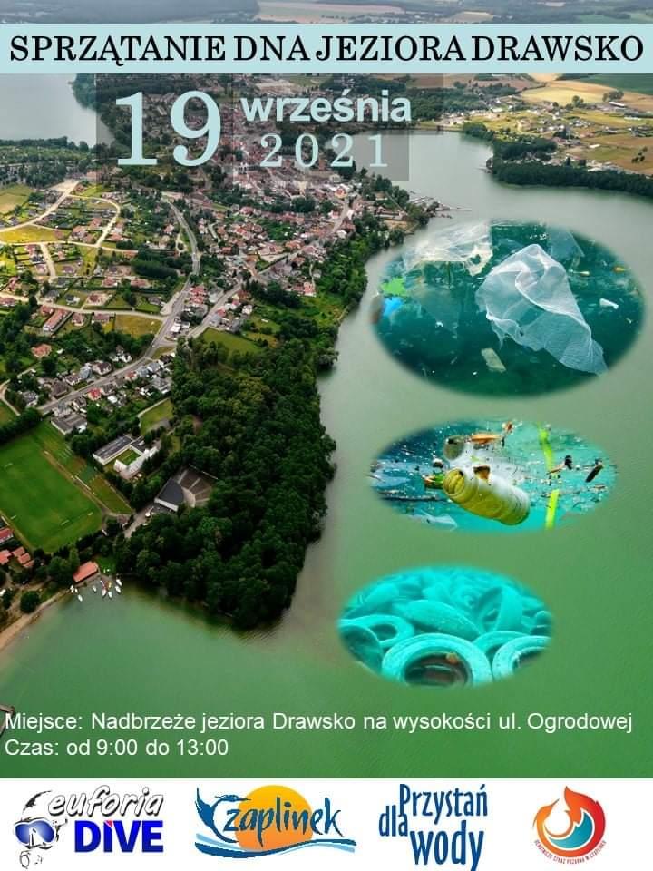 Nurkowie będą sprzątali dno jeziora Czaplinek