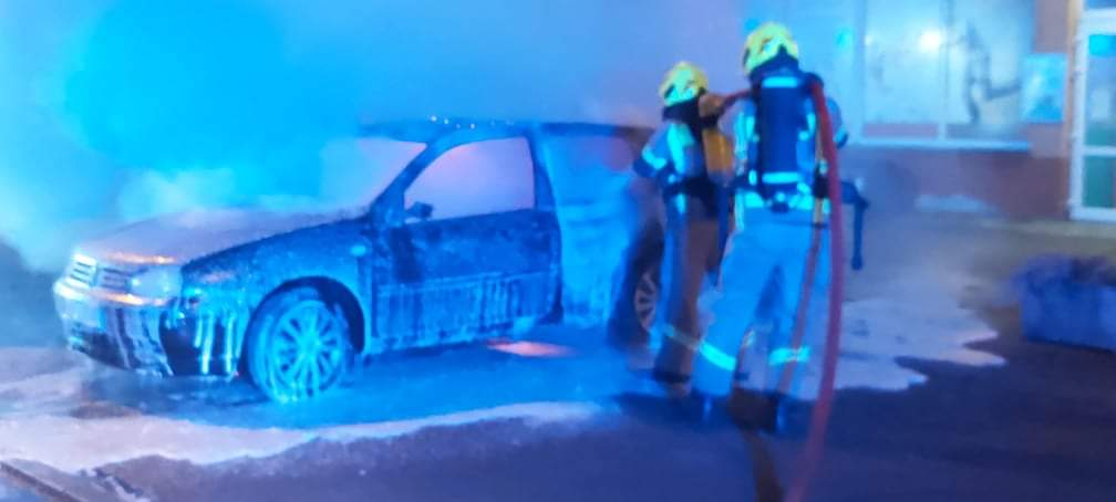 Kolejny samochód spłonął w Czaplinku