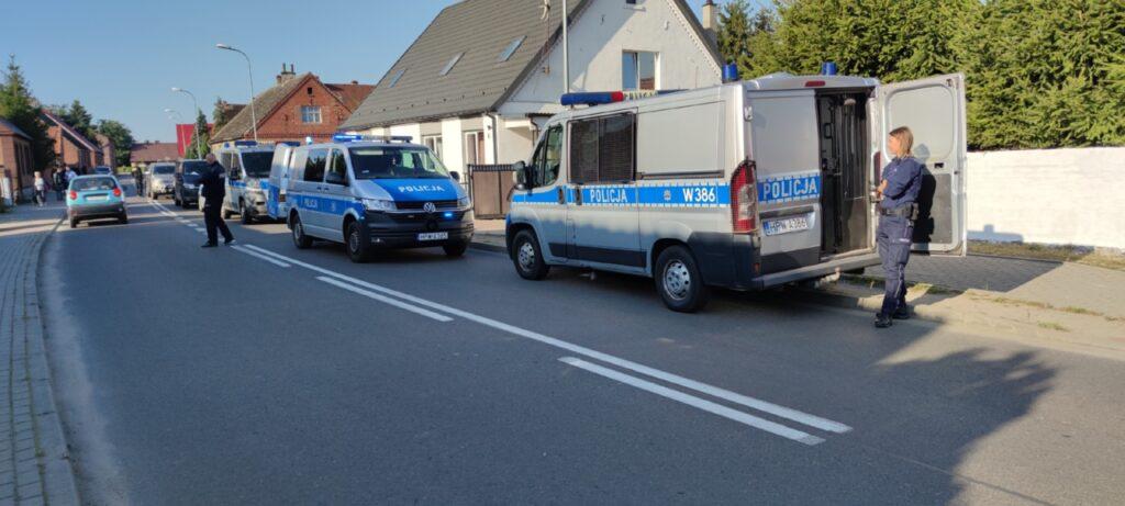 W Wierzchowie oddano trzy strzały. Policja wyjaśnia okoliczności zdarzenia