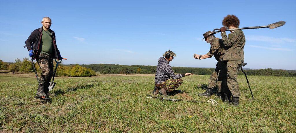 W pobliżu Czaplinka szukali śladów wojsk szwedzkich